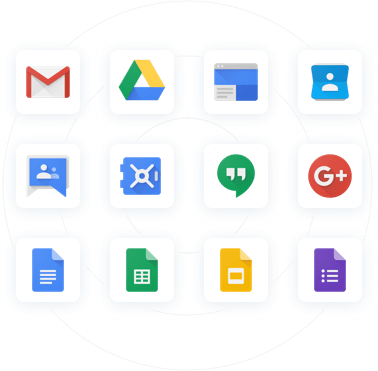 G Suite App Icons by Google Cloud