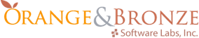orange-and-bronze-logo